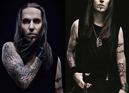 Children Of Bodom Alexi Laiho 腕のタトゥー1